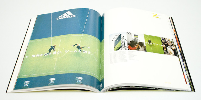 Printed glossy brochure.